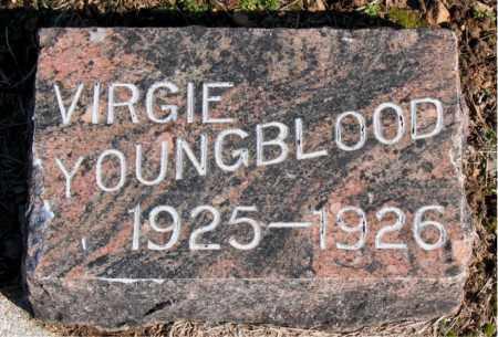 YOUNGBLOOD, VIRGIE - Carroll County, Arkansas | VIRGIE YOUNGBLOOD - Arkansas Gravestone Photos