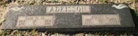 ADKISSON, JR, SAM E - Chicot County, Arkansas | SAM E ADKISSON, JR - Arkansas Gravestone Photos