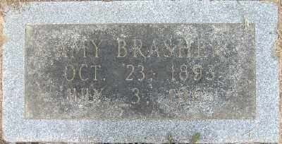 BRASHER, AMY - Chicot County, Arkansas | AMY BRASHER - Arkansas Gravestone Photos