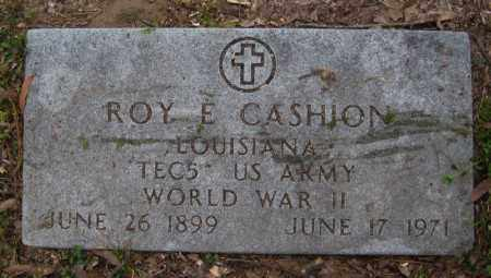 CASHION (VETERAN WWII), ROY E - Chicot County, Arkansas | ROY E CASHION (VETERAN WWII) - Arkansas Gravestone Photos