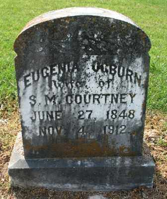 OGBURN COURTNEY, EUGENIA - Chicot County, Arkansas | EUGENIA OGBURN COURTNEY - Arkansas Gravestone Photos