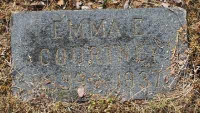 COURTNEY, EMMA E. - Chicot County, Arkansas | EMMA E. COURTNEY - Arkansas Gravestone Photos