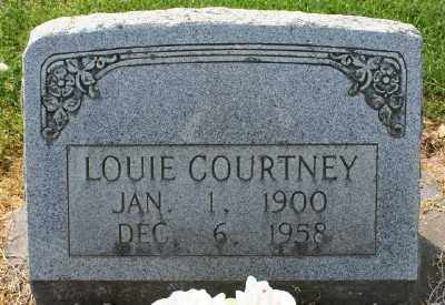 COURTNEY, LOUIE - Chicot County, Arkansas | LOUIE COURTNEY - Arkansas Gravestone Photos