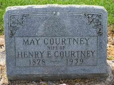 COURTNEY, MAY - Chicot County, Arkansas | MAY COURTNEY - Arkansas Gravestone Photos