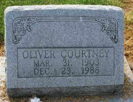 COURTNEY, OLIVER - Chicot County, Arkansas   OLIVER COURTNEY - Arkansas Gravestone Photos