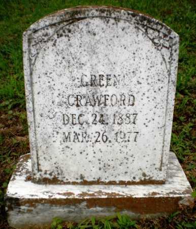CRAWFORD, GREEN - Chicot County, Arkansas   GREEN CRAWFORD - Arkansas Gravestone Photos