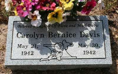 DAVIS, CAROLYN BERNICE - Chicot County, Arkansas | CAROLYN BERNICE DAVIS - Arkansas Gravestone Photos