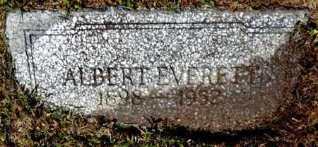 EVERETT, ALBERT HOLMAN - Chicot County, Arkansas   ALBERT HOLMAN EVERETT - Arkansas Gravestone Photos