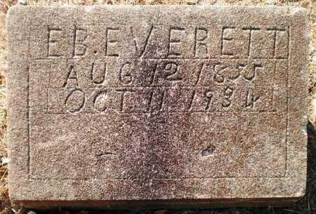 EVERETT, EDWARD B - Chicot County, Arkansas | EDWARD B EVERETT - Arkansas Gravestone Photos
