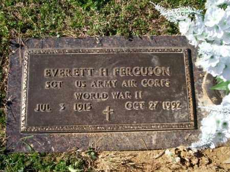 "FERGUSON  (VETERAN WWII), EVERETT HAMILTON ""ED"" - Chicot County, Arkansas   EVERETT HAMILTON ""ED"" FERGUSON  (VETERAN WWII) - Arkansas Gravestone Photos"