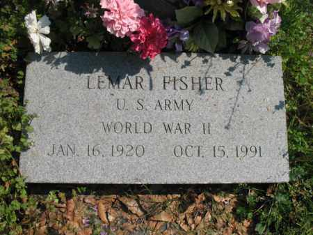 FISHER (VETERAN WWII), LEMAR - Chicot County, Arkansas | LEMAR FISHER (VETERAN WWII) - Arkansas Gravestone Photos