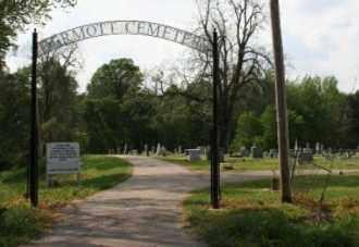 *DERMOTT CEMETERY ENTRANCE,  - Chicot County, Arkansas |  *DERMOTT CEMETERY ENTRANCE - Arkansas Gravestone Photos