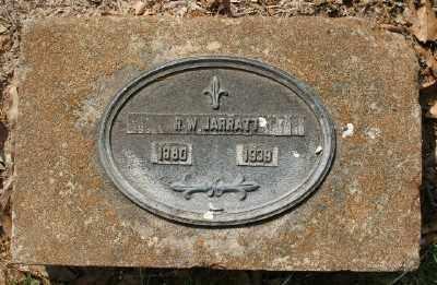 JARRATT, R W - Chicot County, Arkansas | R W JARRATT - Arkansas Gravestone Photos