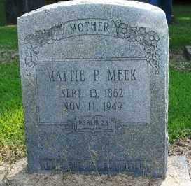 PHILLIPS MEEK, MATTIE P. - Chicot County, Arkansas   MATTIE P. PHILLIPS MEEK - Arkansas Gravestone Photos