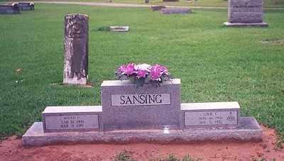 SANSING, MATTIE FRANK - Chicot County, Arkansas | MATTIE FRANK SANSING - Arkansas Gravestone Photos