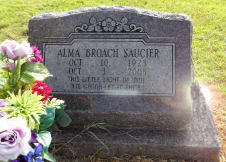 SAUCIER, ALMA - Chicot County, Arkansas   ALMA SAUCIER - Arkansas Gravestone Photos