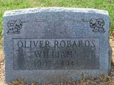 WILLIAMS, OLIVER ROBARDS - Chicot County, Arkansas | OLIVER ROBARDS WILLIAMS - Arkansas Gravestone Photos