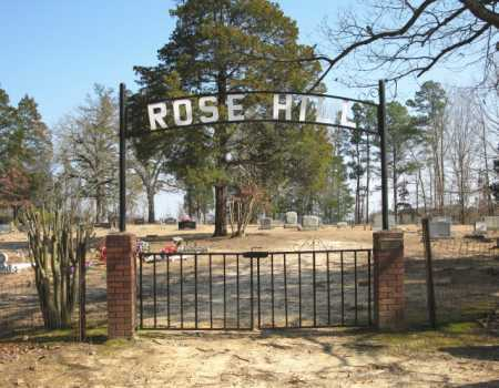 *ROSE HILL CEMETERY, GATE - Clark County, Arkansas | GATE *ROSE HILL CEMETERY - Arkansas Gravestone Photos