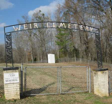 *WEIR CEMETERY, GATE - Clark County, Arkansas | GATE *WEIR CEMETERY - Arkansas Gravestone Photos