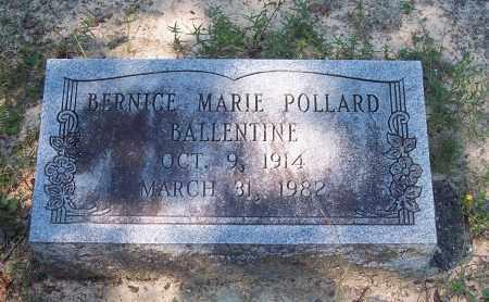 BALLENTINE, BERNICE MARIE - Clark County, Arkansas | BERNICE MARIE BALLENTINE - Arkansas Gravestone Photos