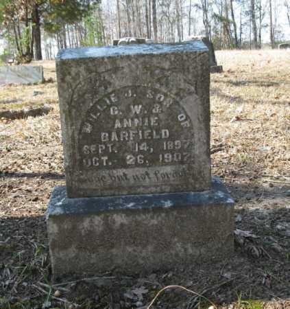 BARFIELD, WILLIE J. - Clark County, Arkansas   WILLIE J. BARFIELD - Arkansas Gravestone Photos