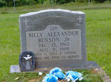 BENSON, JR, BILLY ALEXANDER - Clark County, Arkansas | BILLY ALEXANDER BENSON, JR - Arkansas Gravestone Photos