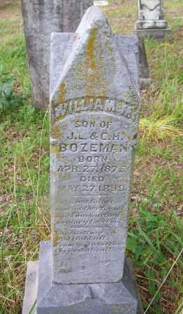 BOZEMAN, WILLIAM M - Clark County, Arkansas   WILLIAM M BOZEMAN - Arkansas Gravestone Photos