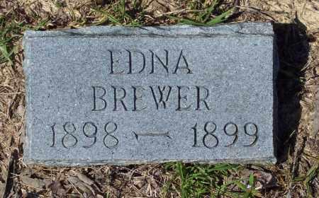 BREWER, EDNA - Clark County, Arkansas | EDNA BREWER - Arkansas Gravestone Photos