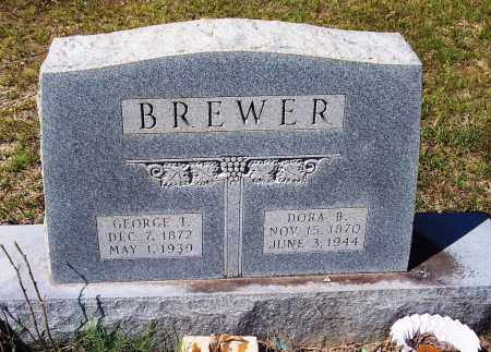 BREWER, GEORGE T. - Clark County, Arkansas   GEORGE T. BREWER - Arkansas Gravestone Photos