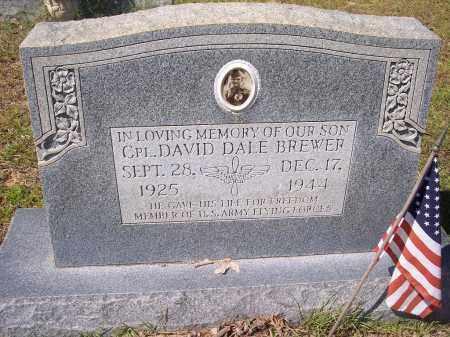 BREWER (VETERAN WWII, KIA), DAVID DALE - Clark County, Arkansas | DAVID DALE BREWER (VETERAN WWII, KIA) - Arkansas Gravestone Photos
