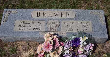 HELMS BREWER, NETTIE - Clark County, Arkansas | NETTIE HELMS BREWER - Arkansas Gravestone Photos