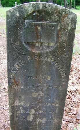 BROWNING, JR, FRANK J - Clark County, Arkansas | FRANK J BROWNING, JR - Arkansas Gravestone Photos