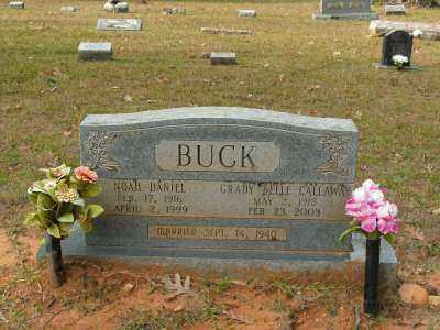 BUCK, GRADY BELLE - Clark County, Arkansas | GRADY BELLE BUCK - Arkansas Gravestone Photos