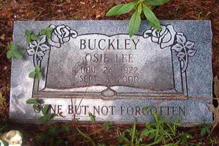 BUCKLEY, OSIE LEE - Clark County, Arkansas   OSIE LEE BUCKLEY - Arkansas Gravestone Photos