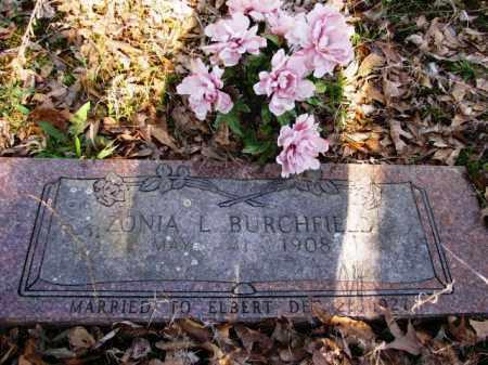 BURCHFIELD, ZONIA L - Clark County, Arkansas   ZONIA L BURCHFIELD - Arkansas Gravestone Photos