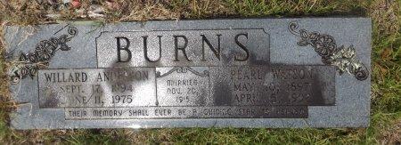BURNS (HOLD, PEARL - Clark County, Arkansas | PEARL BURNS (HOLD - Arkansas Gravestone Photos