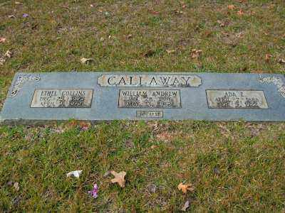 COLLINS CALLAWAY, ETHEL - Clark County, Arkansas | ETHEL COLLINS CALLAWAY - Arkansas Gravestone Photos