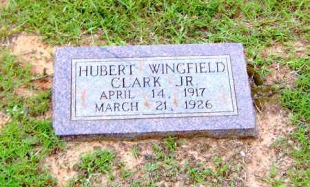 CLARK, JR, HUBERT WINGFIELD - Clark County, Arkansas   HUBERT WINGFIELD CLARK, JR - Arkansas Gravestone Photos