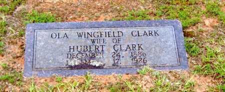 CLARK, OLA - Clark County, Arkansas | OLA CLARK - Arkansas Gravestone Photos