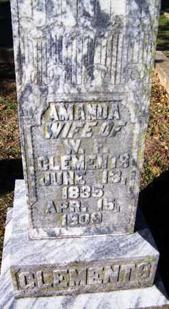 CLEMENTS, AMANDA - Clark County, Arkansas | AMANDA CLEMENTS - Arkansas Gravestone Photos