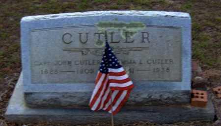 CUTLER, EMMA L. - Clark County, Arkansas   EMMA L. CUTLER - Arkansas Gravestone Photos