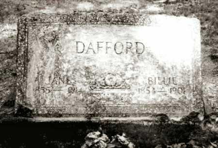 DAFFORD, JANE - Clark County, Arkansas   JANE DAFFORD - Arkansas Gravestone Photos
