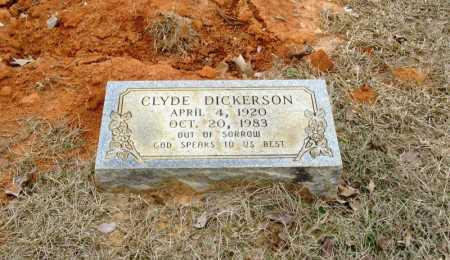DICKERSON, CLYDE - Clark County, Arkansas | CLYDE DICKERSON - Arkansas Gravestone Photos