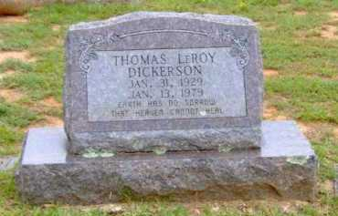 DICKERSON, THOMAS LEROY - Clark County, Arkansas   THOMAS LEROY DICKERSON - Arkansas Gravestone Photos