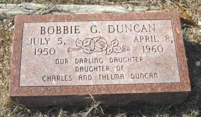 DUNCAN, BOBBIE G. - Clark County, Arkansas | BOBBIE G. DUNCAN - Arkansas Gravestone Photos