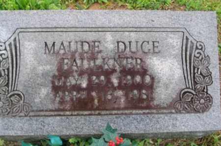 DUCE FAULKNER, MAUD MAY - Clark County, Arkansas | MAUD MAY DUCE FAULKNER - Arkansas Gravestone Photos