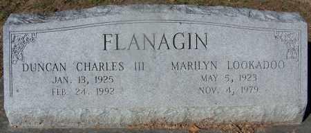 LOOKADOO FLANAGIN, MARILYN - Clark County, Arkansas | MARILYN LOOKADOO FLANAGIN - Arkansas Gravestone Photos