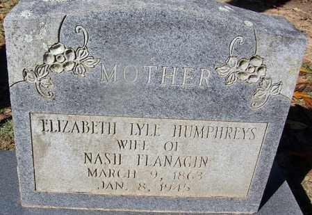 FLANAGIN, ELIZABETH LYLE - Clark County, Arkansas   ELIZABETH LYLE FLANAGIN - Arkansas Gravestone Photos