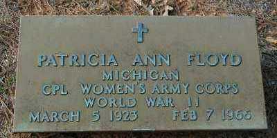 FLOYD (VETERAN WWII), PATRICIA ANN - Clark County, Arkansas | PATRICIA ANN FLOYD (VETERAN WWII) - Arkansas Gravestone Photos