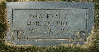 FRANK, ORA - Clark County, Arkansas | ORA FRANK - Arkansas Gravestone Photos